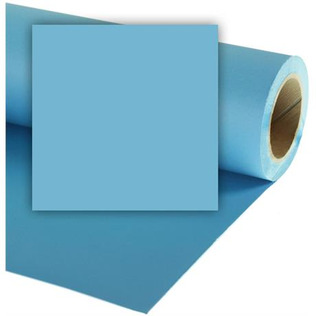 Colorama 1.35mx11m Sky Blue Photographic Paper Image 1