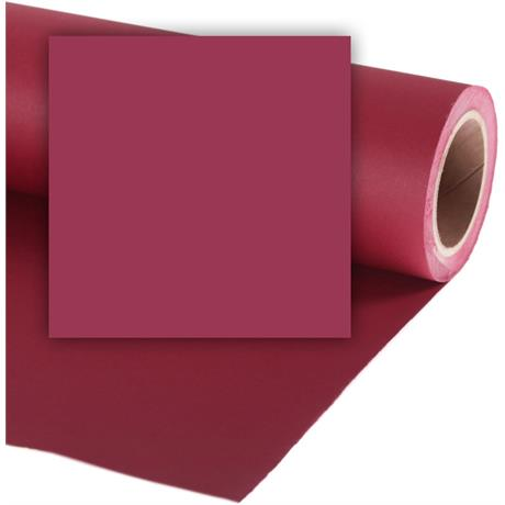 Colorama 2.72mx11m Crimson Photographic Paper Image 1