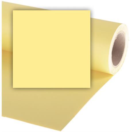 Colorama 2.72mx11m Lemon Photographic Paper Image 1