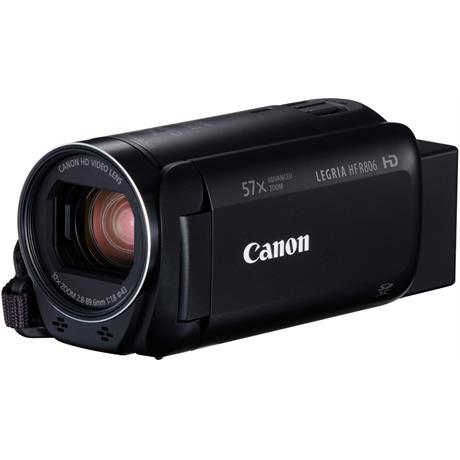 Canon LEGRIA HF R806 Black Camcorder Image 1