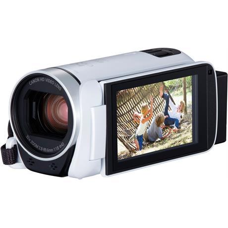 Canon LEGRIA HF R806 White Camcorder Image 1