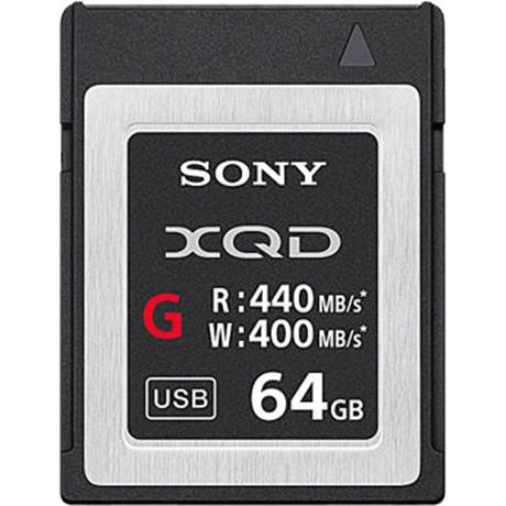 Sony 64GB XQD G Series Memory Card Image 1