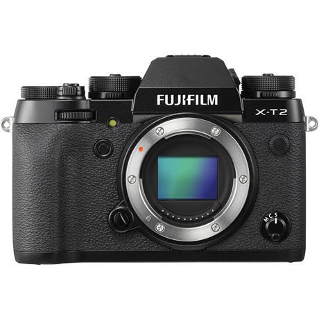Fujifilm X-T2 Mirrorless Camera - Body Only Image 1