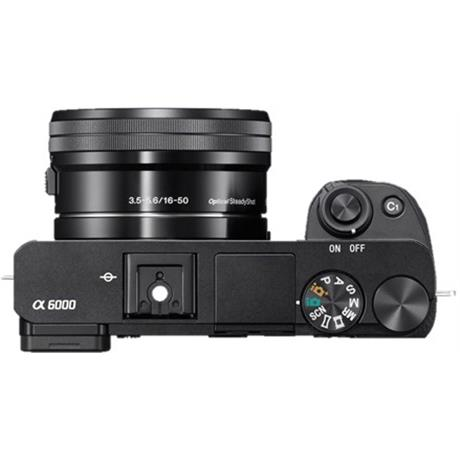 Sony A6000 mirrorless digital camera + 16-50mm Power Zoom Lens - Black Image 1