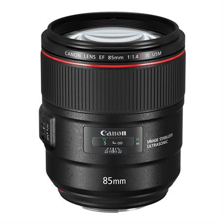 Canon EF 85mm f/1.4L IS USM Short Telephoto Lens Image 1