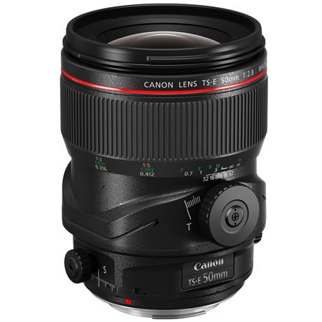Canon TS-E 50mm f/2.8L Manual Focus Tilt-Shift Macro Lens Image 1