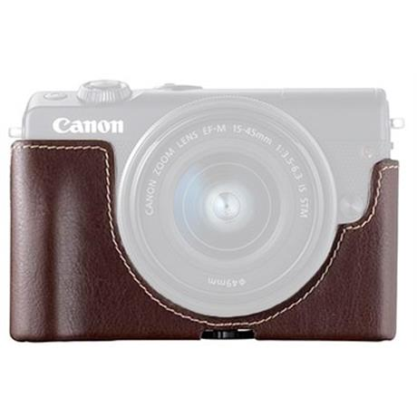 Canon EH31-FJ Dark BW Leather Face Jacket Image 1