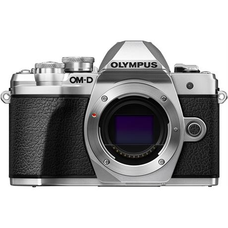Olympus OM-D E-M10 Mark III Body Only - Silver