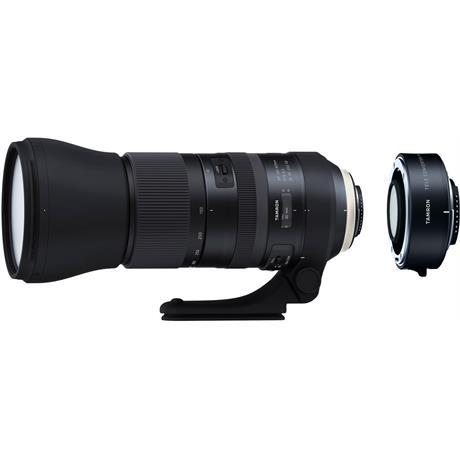 Tamron SP 150-600mm f/5-6.3 Di VC USD G2 Lens + 1.4x Teleconverter - Canon EF Image 1