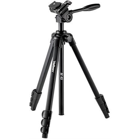 Velbon M 45 Tripod with 3-Way Head Image 1
