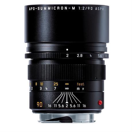 Leica APO-SUMMICRON-M 90mm f/2 ASPH Black Anodised Image 1