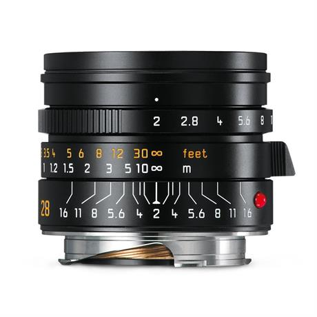 SUMMICRON-M 28mm f/2 ASPH Black Anodised