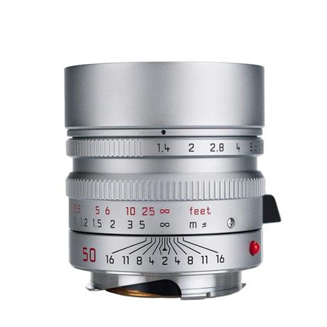 Leica SUMMILUX-M 50mm f/1.4 ASPH Silver Chrome Image 1