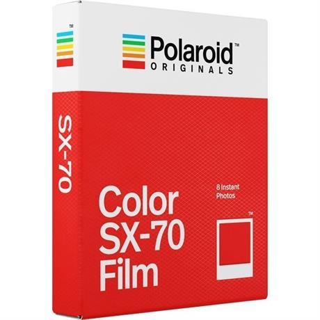 Polaroid Originals Color Film for Polaroid SX-70 Cameras Image 1