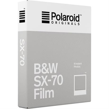Polaroid Originals B&W Film for Polaroid SX-70 Cameras Image 1