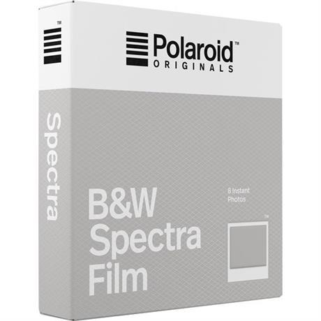 Polaroid Originals Image/Spectra B&W Film (8 Sheets) Image 1
