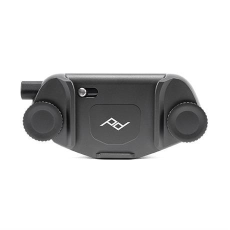 Peak Design Capture Camera Clip (v3) Black with Standard Plate Image 1