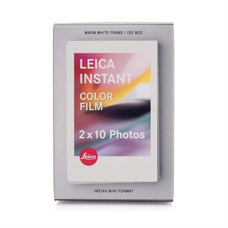 Leica SOFORT Colour Instant Film Double Pack (20 Exposures) Image 1