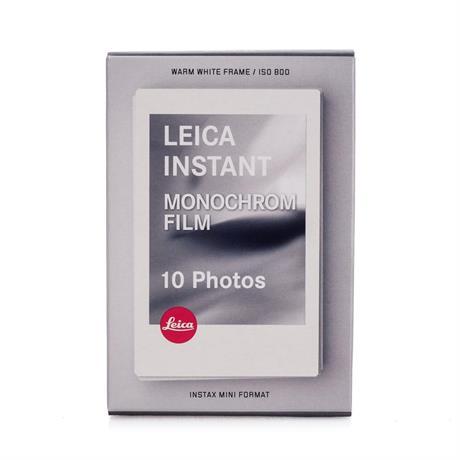 Leica SOFORT Monochrome Instant Film Pack (10 Exposures) Image 1