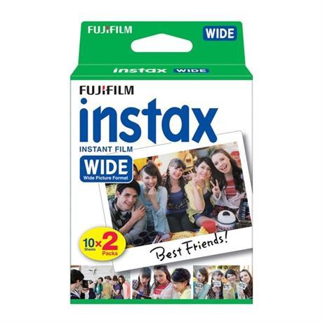 Fujifilm Instax Wide Format Instant Film Twinpack Image 1