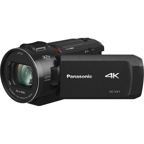 Panasonic HC-VX1EB 4K Video Camera - Black Image 1