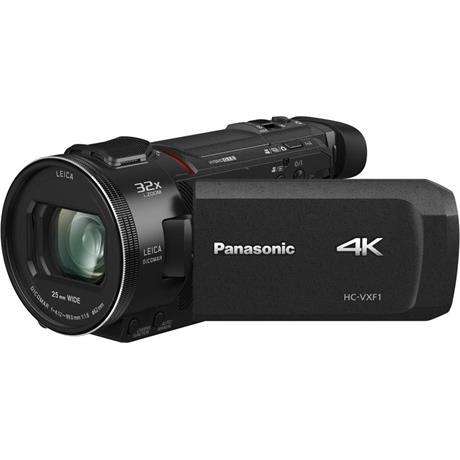 Panasonic HC-VXF1EB 4K Video Camera - Black Image 1