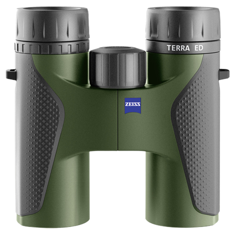 Terra ED 10x32 Binocular - Black/Green