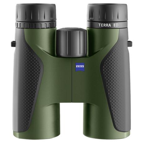 Terra ED 10x42 Binocular - Black/Green
