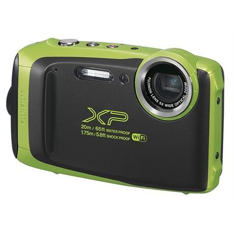 Fujifilm FinePix XP130 Waterproof Digital Camera - Lime Image 1