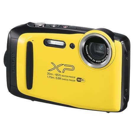Fujifilm FinePix XP130 Waterproof Digital Camera - Yellow Image 1