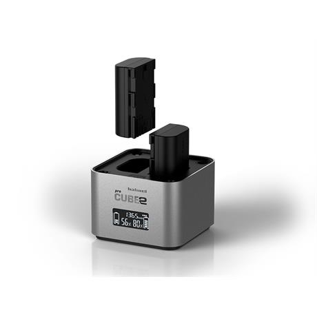 Hahnel ProCube 2 Twin Charger for Canon Image 1