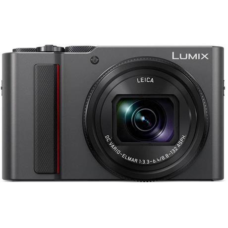 Panasonic Lumix TZ200 Compact Camera - Silver Image 1