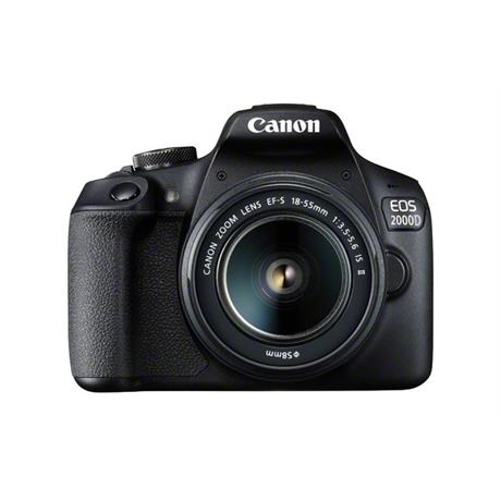 Canon EOS 2000D Digital SLR Body With EF-S 18-55mm IS II Lens Kit Image 1