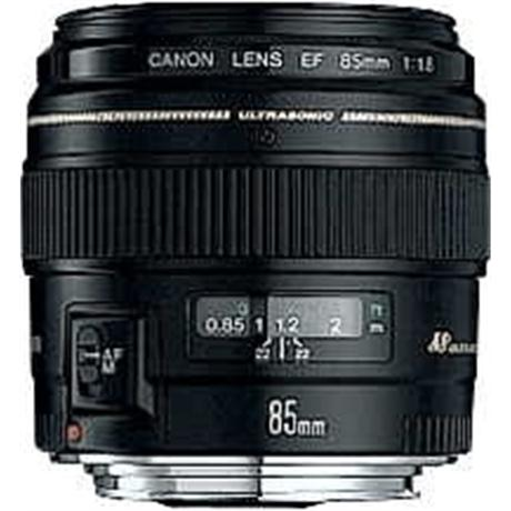 Canon EF 85mm f/1.8 USM Short Telephoto Lens Image 1