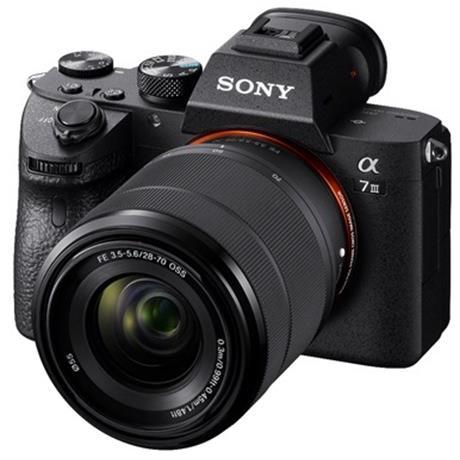 Sony a7 III Full-Frame Mirrorless Digital Camera + 28-70mm Lens Kit Image 1
