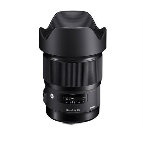 Sigma 20mm f/1.4 DG HSM Art - Sony Fit Lens Image 1