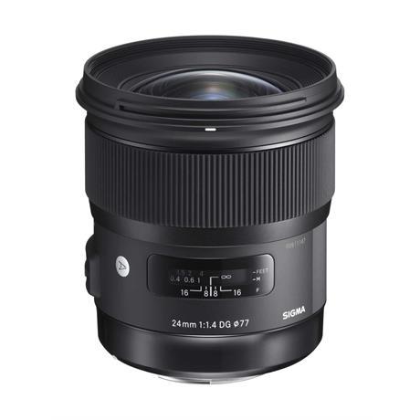 Sigma 24mm f/1.4 DG HSM Art - Sony Fit Lens Image 1