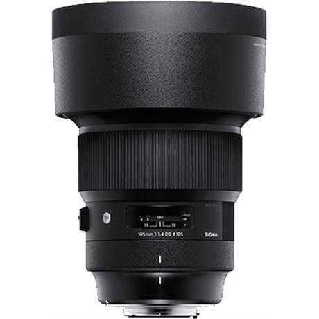 Sigma 105mm f/1.4 DG HSM Art Lens - Sigma mount Image 1