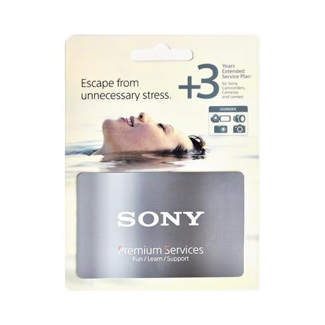 Sony (1+3)  Extended Warranty for Camera Image 1