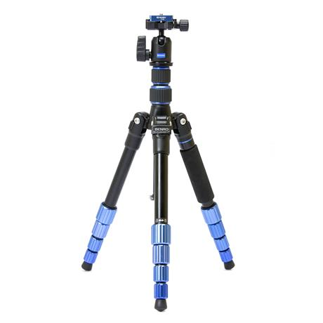 Slim Aluminium Travel Tripod Kit with Ball Head