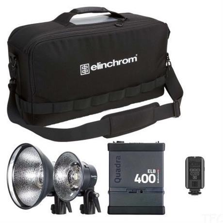Elinchrom ELB 400 Pro Twin To Go Set Image 1