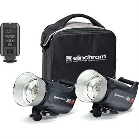 Elinchrom ELC Pro HD 500/500 To Go Set Image 1