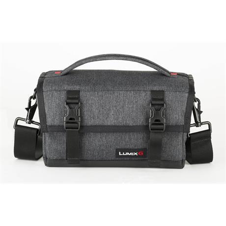 Panasonic DMW-PS10 Grey/Black Messenger Bag Image 1