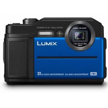 Panasonic Lumix FT7  Digital Still camera Blue Image 1