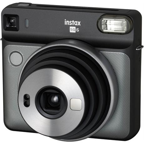 Fujifilm instax Square SQ6 Graphite Grey Instant Camera Image 1