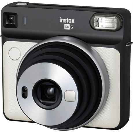 Fujifilm instax Square SQ6 Pearl White Instant Camera Image 1