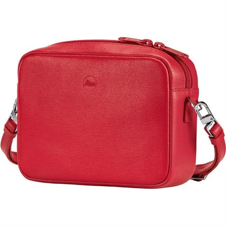 Leica Andrea Leather Handbag for C-Lux- Red | Park Cameras Image 1