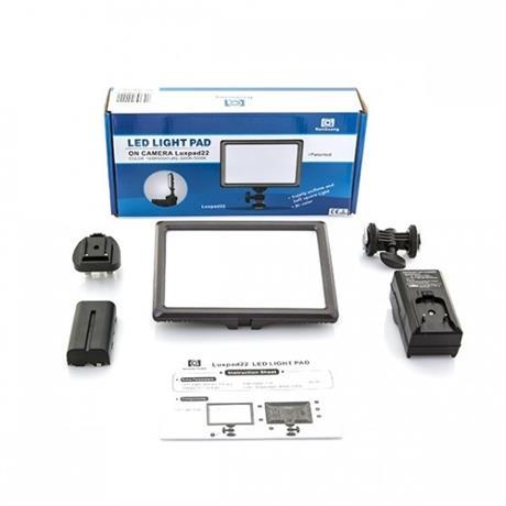 Nanlite Nanguang LED Pad Light Luxpad22 Kit Image 1