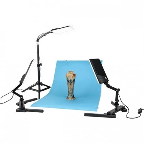 NanGuang LED Photo Light Kit 3 Heads Kit Image 1