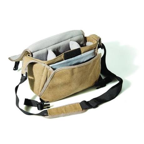 Fujifilm GEO Compact Shoulder bag CSC Bag - Brown Image 1